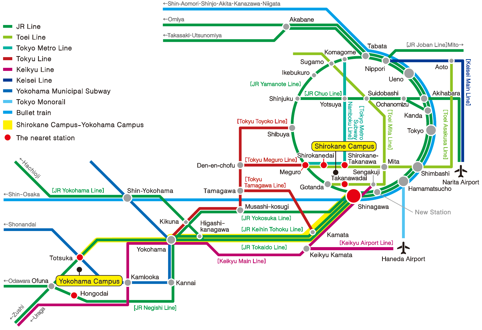 Yokohama Subway Map Pdf.Access 明治学院大学 Do For Others