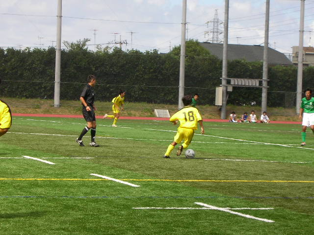東京都大学サッカーリーグ戦第二節 詳細